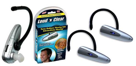 Слуховой аппарат Loud n Clear - усилитель слуха, звука