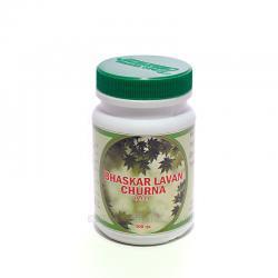 Лаванбхаскар чурна 100 гр, улучшение пищеварения