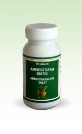 Амритоттарам кватха, Амритоттар - для лечения гастрита и язвенной болезни, нормализует кислотность