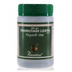 Триврут лехья, мягкое слабительное в виде варенья 300 г. Trivrutadi Lehya