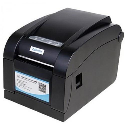 Принтер чеков и этикеток XPrinter XP-350B (USB, термо 80 мм)