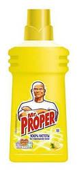 MR PROPER жидкое моющее средство для пола и стен Лимон 500 мл