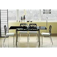 Стеклянный стол Signal GD-017 черный