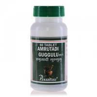 Амритади гуггул (Amritadi guggul), при подагре, артрите и артрозе, 60 таб