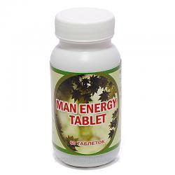 Мэн, мен, энерджи, тонус и потенция, хронический простатит и аденома 60 таб