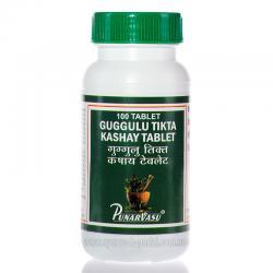 Гугул, Гуггул тикта кашая, 100 таб,  - аллергия, кожные заболевания, воспаления и токсины