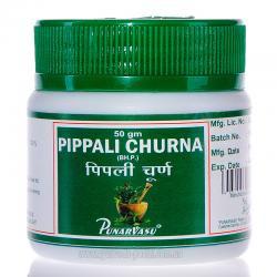 Пиппали чурна, Пипали, 50 гр, улучшение пищеварения