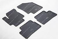 Резиновые коврики Хендай Акцент в салон (коврики на Hyundai Accent 3)