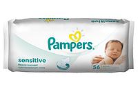 Салфетки влажные детские Pampers Sens сменный блок ПрепакКороб 56 шт