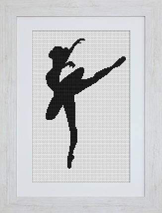 """Набор для вышивания нитками  """"Балерина"""", фото 2"""