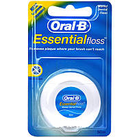 Зубная нить Oral-B Essential Floss Воскована 50 м