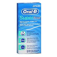 Зубная нить Oral-B Super 50 м