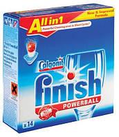 FINISH All in 1Таблетки для мытья посуды в посудомоющих машинах14 шт