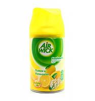 """AIRWICK Автоматический освежитель, сменный балон """"Лимон и женьшень"""" 250 мл"""