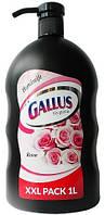 Жидкое мыло с ароматом розы Gallus Rose Handseife 1L