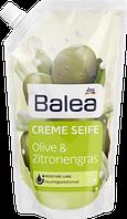 Крем-мыло (заправка) оливковое масло и лимонник Balea Creme Seife Olive&Zitronengras 500ml