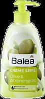 Крем-мыло оливковое масло и лимонник Balea Creme Seife Olive&Zitronengras 500ml