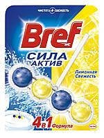 Bref туалетный блок Сила aktiv Лимонная свежесть 50 г
