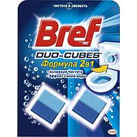 Bref Дуо-куб очищающие кубики для унитаза 100 г
