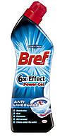 Bref Power Гель для чистки унитаза 6 в 1 Против известкового налёта 750 мл