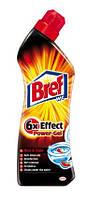 Bref Power Гель для чистки унитаза 6 в 1 Против ржавчины 750 мл