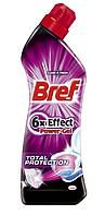 Bref Power Гель для чистки унитаза 6 в 1 Total Protection 750 мл