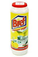 """Bref порошок для чистки """"+ эффект соды"""" Лимон 500 г"""