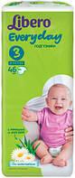 Подгузники детские Libero Everyday 3 (4-9 кг) 46 шт.