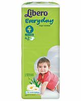 Подгузники детские Libero Everyday 4 (7-18 кг) 42 шт.