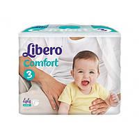 Подгузники детские Libero Comfort 3 (4-9кг) 44 шт.