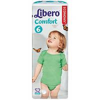 Подгузники детские Libero Comfort 6 (12-22 кг) 52 шт.