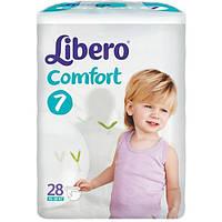 Подгузники детские Libero Comfort 7 (15-30 кг) 28 шт.