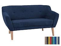 Мягкий диван Signal Bergen 2 синий