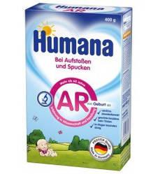 Сухая детская молочная смесь HUMANA AR для детей с отрыгиваниями, коликами  и запорами 400 г