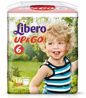 Подгузники детские Libero Up&Go 6 (13-20 кг) 14 шт.