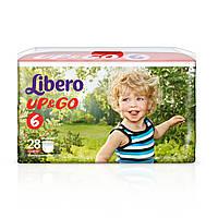 Подгузники детские Libero Up&Go 6 (13-20 кг) 28 шт.