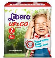 Подгузники детские Libero Up&Go 7 (16-26 кг) 12 шт.
