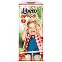 Подгузники-трусики детские Libero Up&Go 7 (16-26 кг) 40 шт.