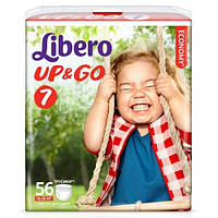 Подгузники детские Libero Up&Go 7 (16-26 кг) 56 шт.