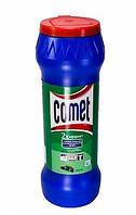 COMET Чистящий порошок с дезинфицирующими свойствами Сосна с хлоринолом, банке 475 г