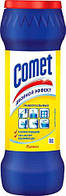 COMET Чистящий порошок с дезинфицирующими свойствами Лимон с хлоринолом, в банке 475 г