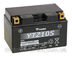 Акумулятор для мотоцикла гелевий YUASA YTZ10S Ah 8.6 150x87x93, фото 2
