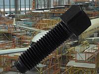 Установочный винт М10 ГОСТ 1482-84, DIN 479 с квадратной головой и цилиндрической цапфой