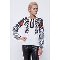 Блуза с украинским стилизованным орнаментом