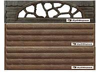 Форма для изготовления бетонных заборов № 68 Новинка