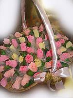 """Букет конфет""""Большая корзина роз"""""""