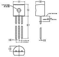 Транзистор биполярный стандартный 2SC2240-GR TOS TO-92-3pins