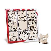 Резные фигурки для творчества - Коты на подставке