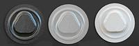 Спайдер для дисков пластиковый белый