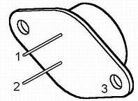 Транзистор биполярный стандартный MJ802 ST TO-3